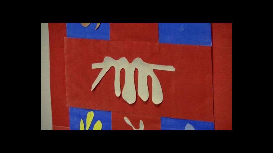 Video V Tate vystavují unikátní koláže Henriho Matisse