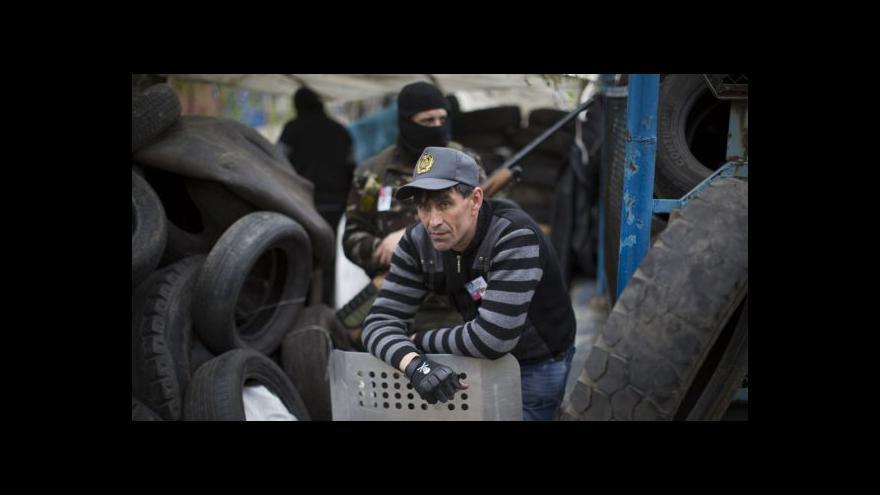Video Karas: Separatisté zůstávají v okupovaných budovách
