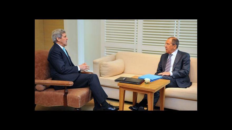 Video Kerry volal do Moskvy: Dodržujte dohodu z Ženevy