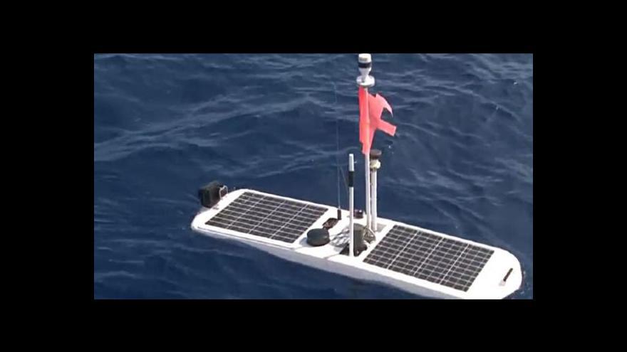 Video Bezpilotní plavidla by mohla hlídat a mapovat oceány