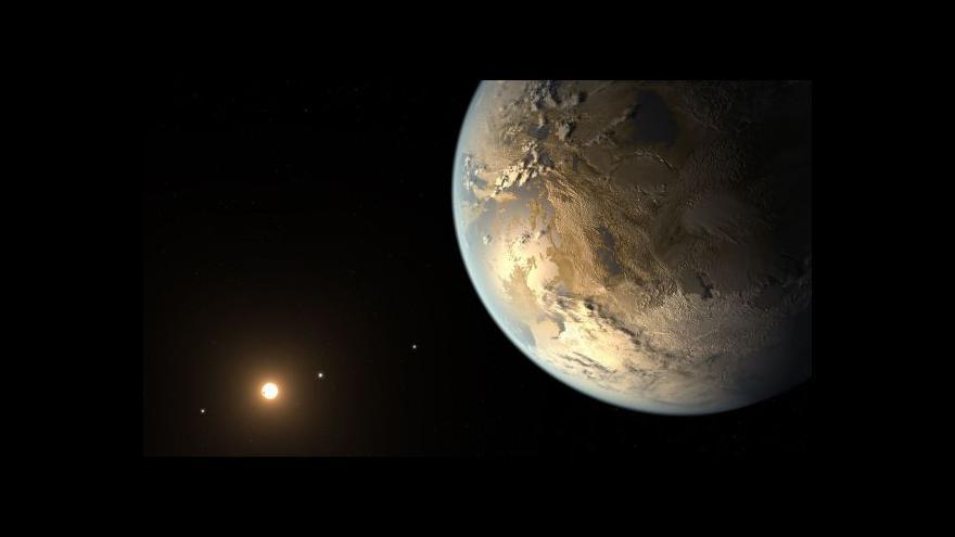 Video Astronom Poddaný: Pozdrav by trval šest milionů let