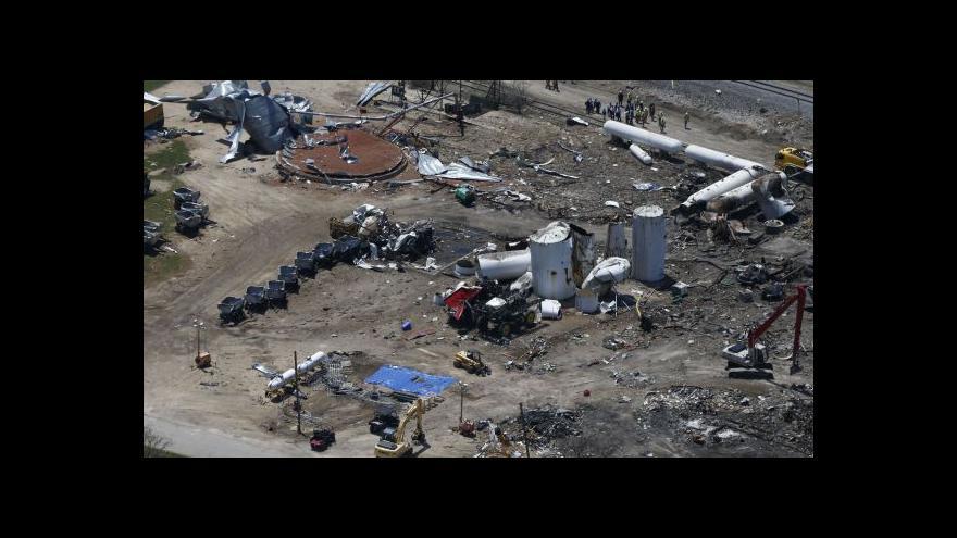 Video Před rokem zabíjela exploze v texaském Westu