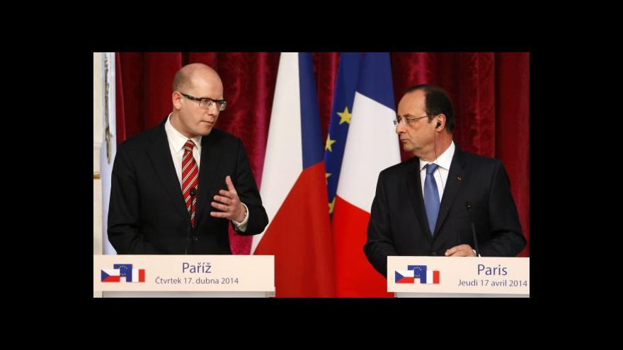 Video Zavadil: Sobotka řešil s Hollandem i operaci v Mali