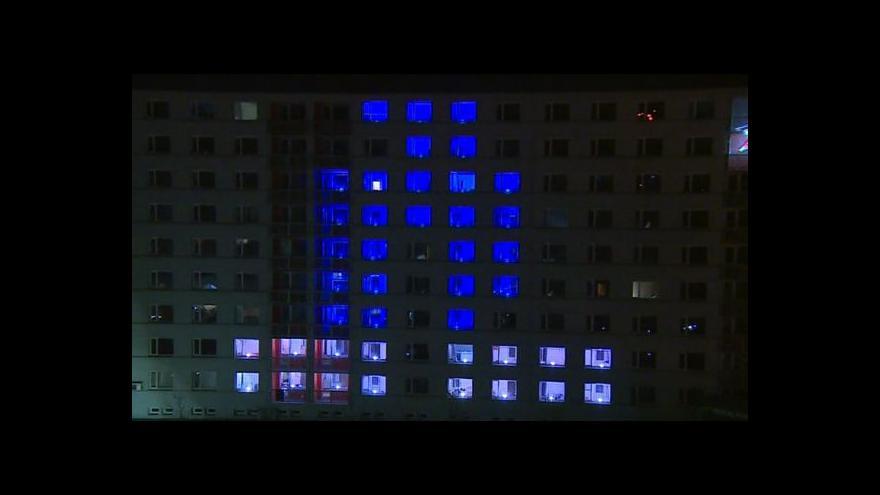 Video NO COMMENT: Světelná show na kolejích
