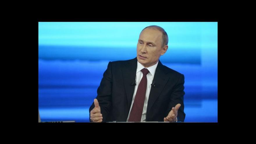 Video Putin: Rusko udělá vše pro ochranu práv menšiny na Ukrajině