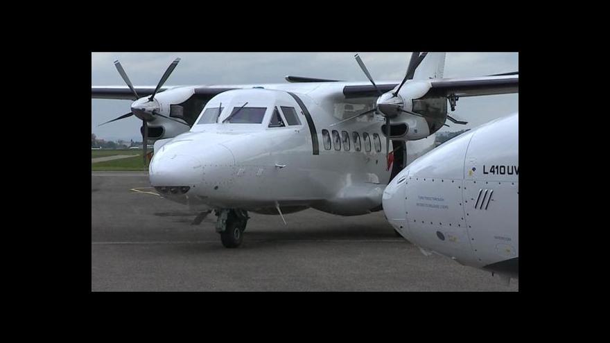 Video Události: Letadlo L-410 slaví 45. výročí