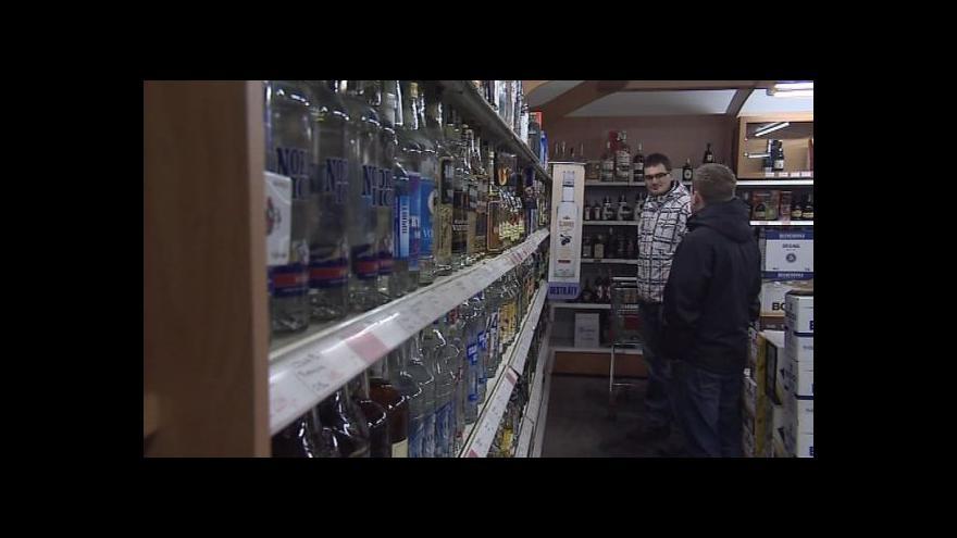 Video Téma koncesí pro prodej lihovin na ČT24