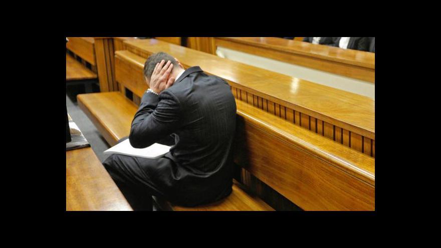Video Psycholog: Pistoriusovy slzy jsou pravé, zároveň se hodí jeho obhajobě