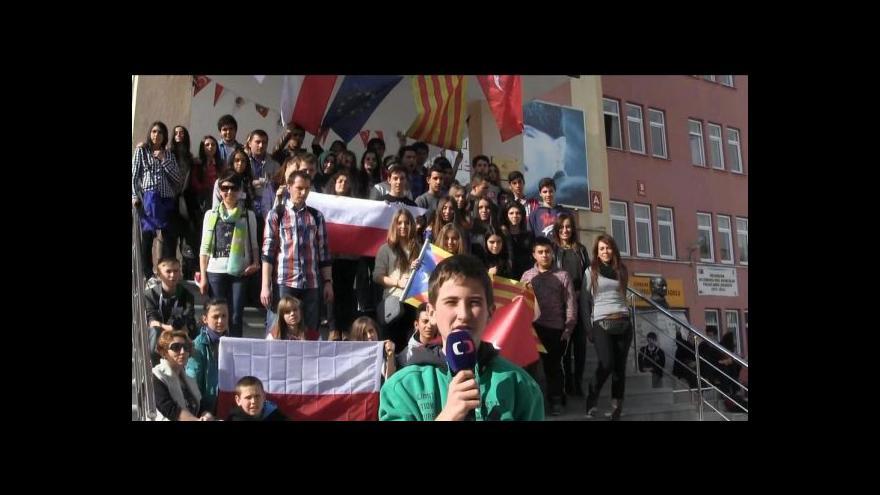 Video Projektové setkání škol v Turecku