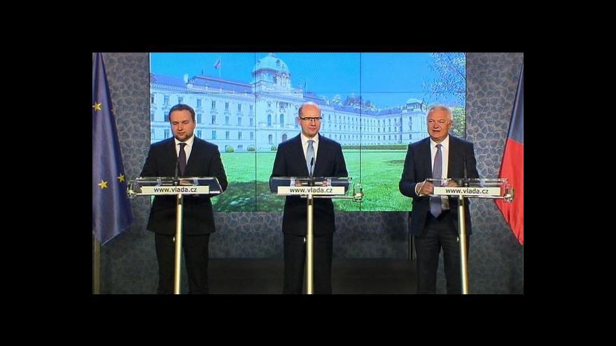 Video Koaliční rada o snížení DPH a restitucích