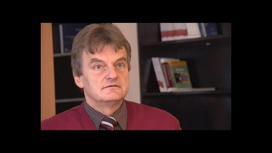 Video Hovoří zástupce ředitele brněnského úřadu práce Josef Bürger