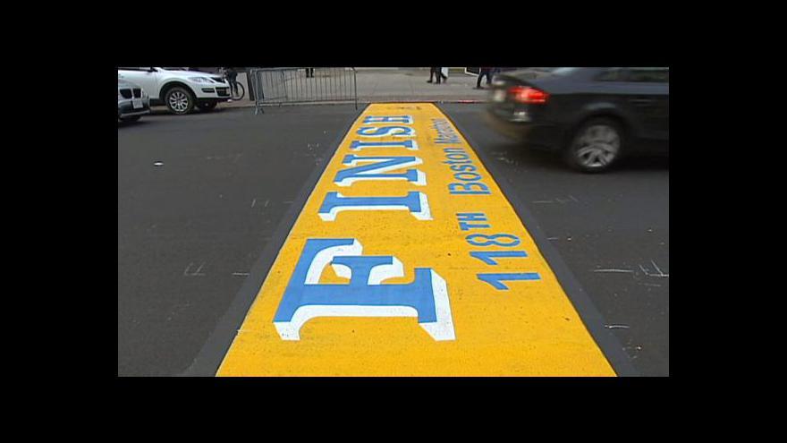 Video Bostonský maraton provázejí přísná bezpečnostní opatření