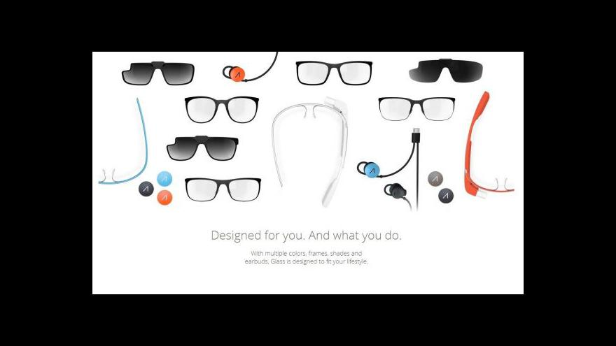 Video Google Glass v prodeji