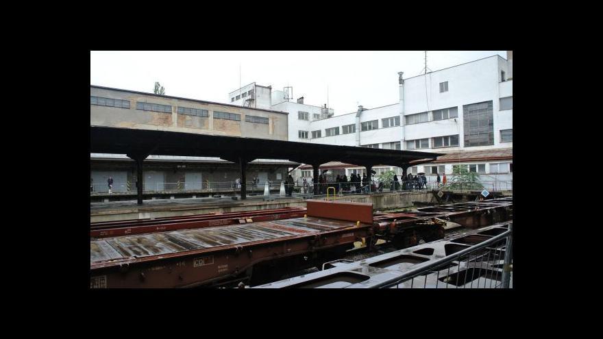 Video Události: Nákladové nádraží se má stát kulturním centrem