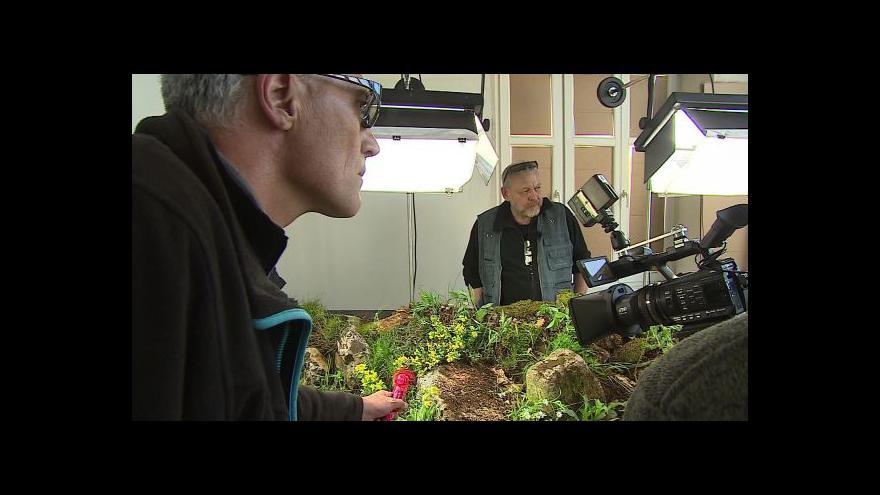 Video Botanik Jan Šamánek o vytváření umělých biotopů