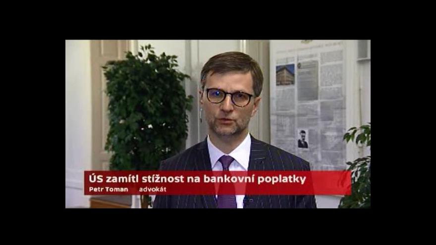 Video Toman: Doporučíme klientům žaloby stáhnout