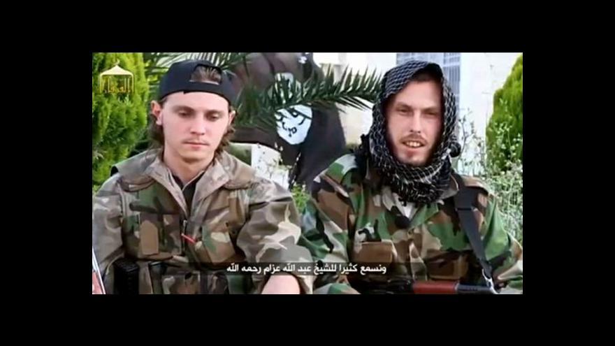 Video Čím dál víc Evropanů odjíždí bojovat do Sýrie