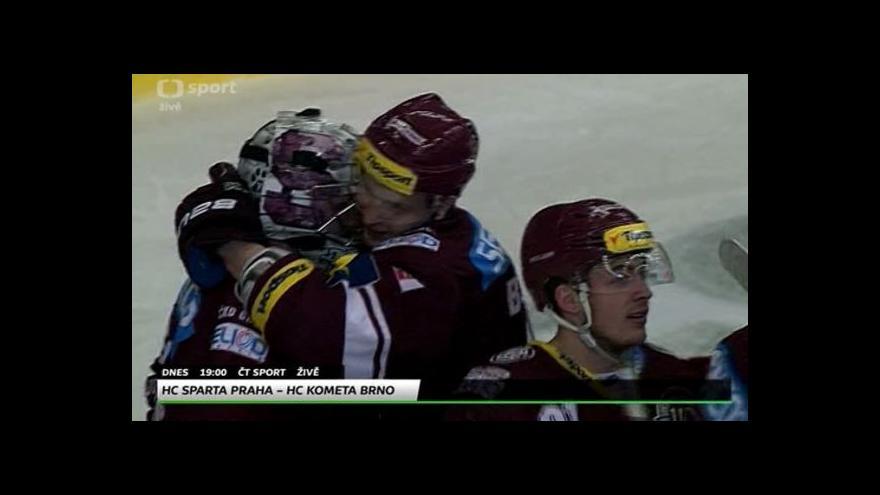 Video Před sedmým semifinále Sparta - Brno