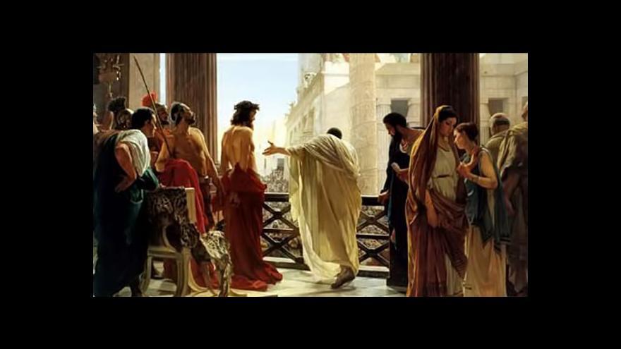Video Kde Pilát Pontský odsoudil Ježíše?