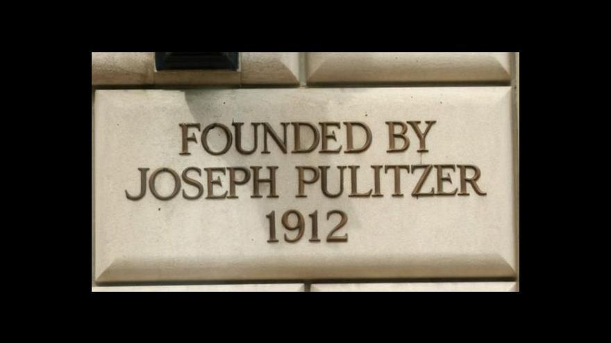Video Pulitzerova cena za odhalení praktik NSA