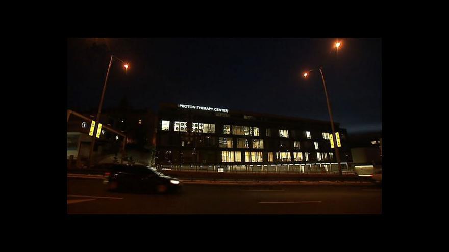Video Pokud ukončí protonové centrum právní spory, nabídne mu VZP smlouvu