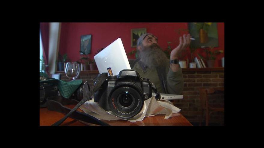 Video Fotograf Vojta Dukát točil odchod sovětských vojsk