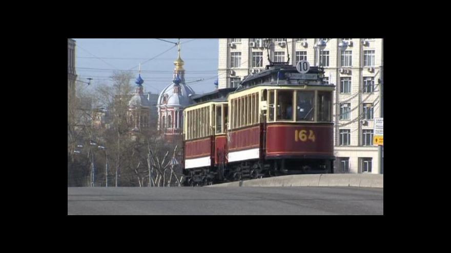 Video Bez komentáře: 115. výročí elektrických tramvají v Moskvě