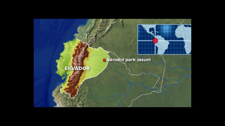 Video V Ekvádoru vymění deštný prales za ropný