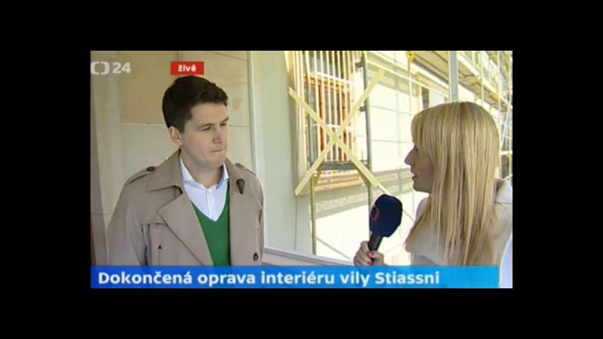 Video Rozhovor Ivy Zigmundové s hosty o rekonstrukci vily