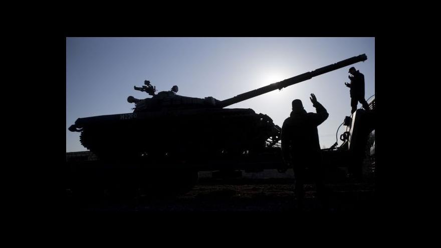 Video Události: Ukrajinští Češi napětí v zemi příliš nevnímají