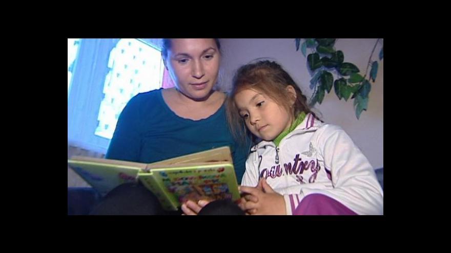 Video Horizont 24: Čtení romským dětem
