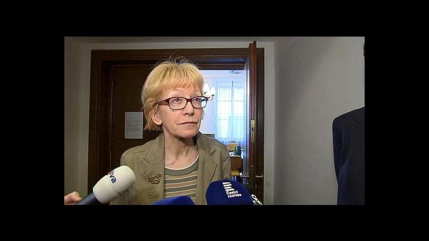 Video Ministryně Válková: Jsem ráda, jak výbor nakonec hlasoval