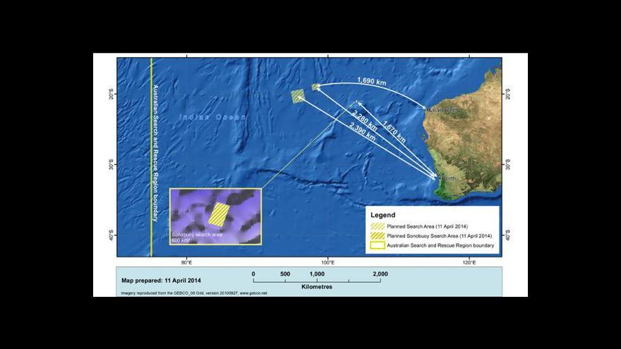 Video Signály prý skutečně vycházejí z černých skříněk letu MH370
