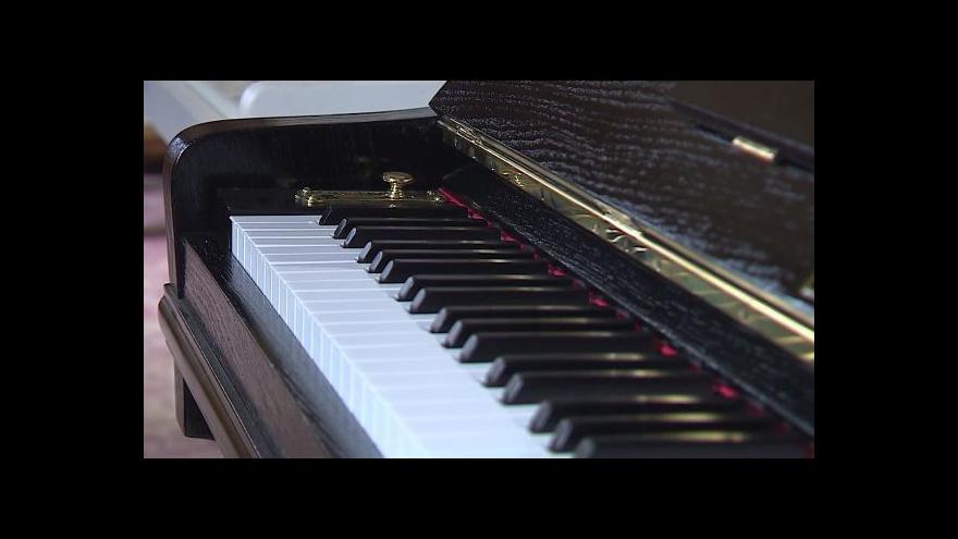 Video Vedoucí půjčovny Dana Heferová o zájmu o klavíry