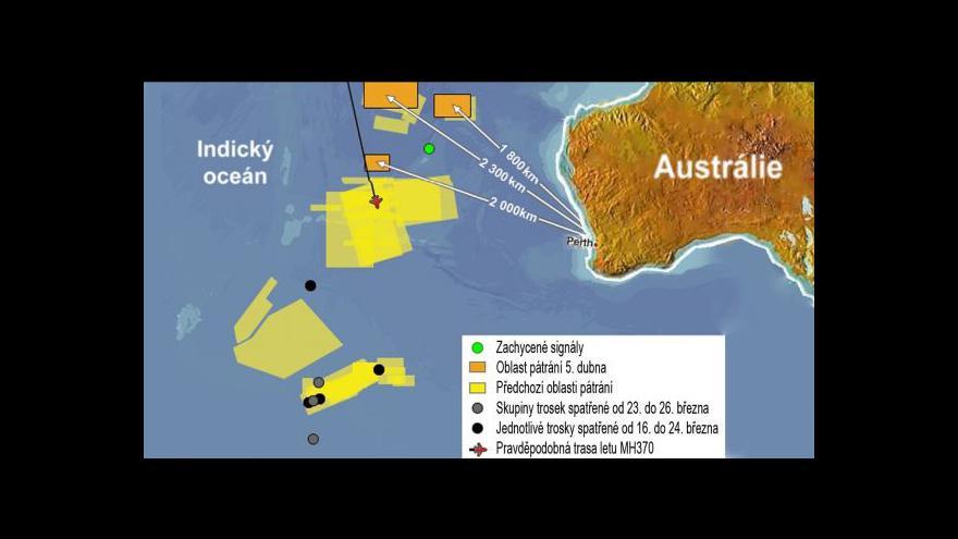 Video ZÁHADA LETU MH370: Kupku jsme našli, teď hledáme jehlu