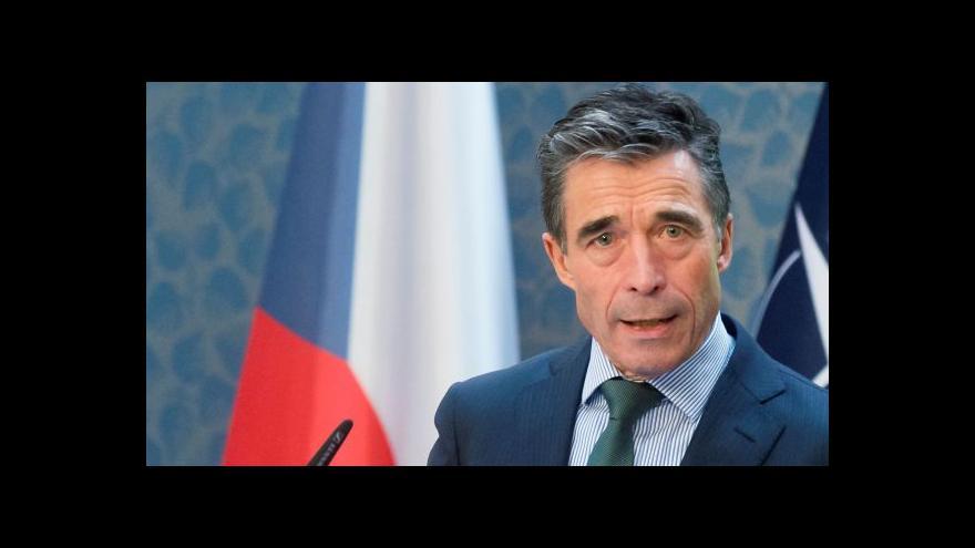 Video Rasmussen žádá Česko, ať zvýší výdaje na obranu