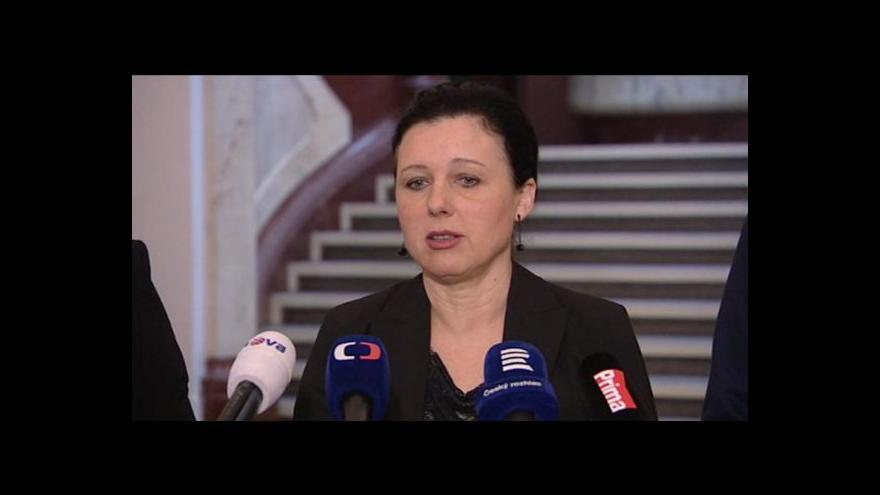 Video Brífink Věry Jourové k rozsudku o odškodnění za vazbu