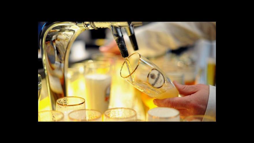Video Události: Spotřeba piva v Česku zvolna klesá