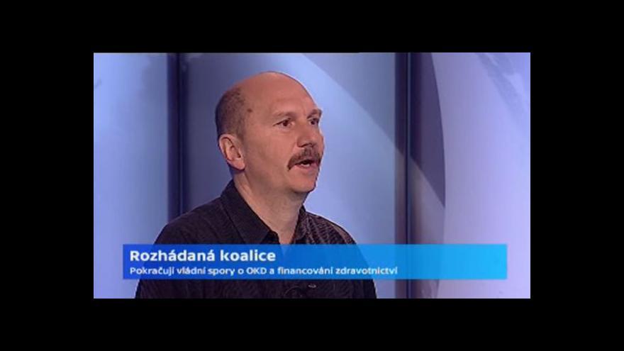 Video Rozhovor s Petrem Hartmanem o koaličních neshodách