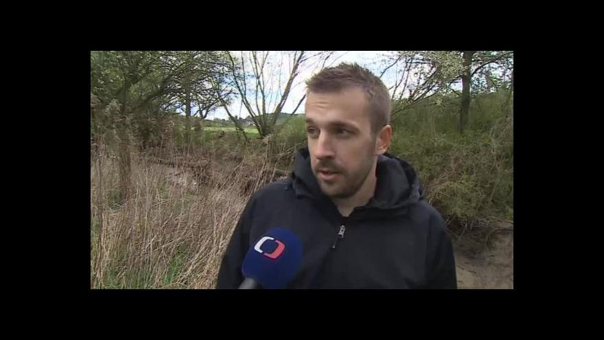 Video Hovoří úsekový technik Povodí Moravy Jiří Navrátil