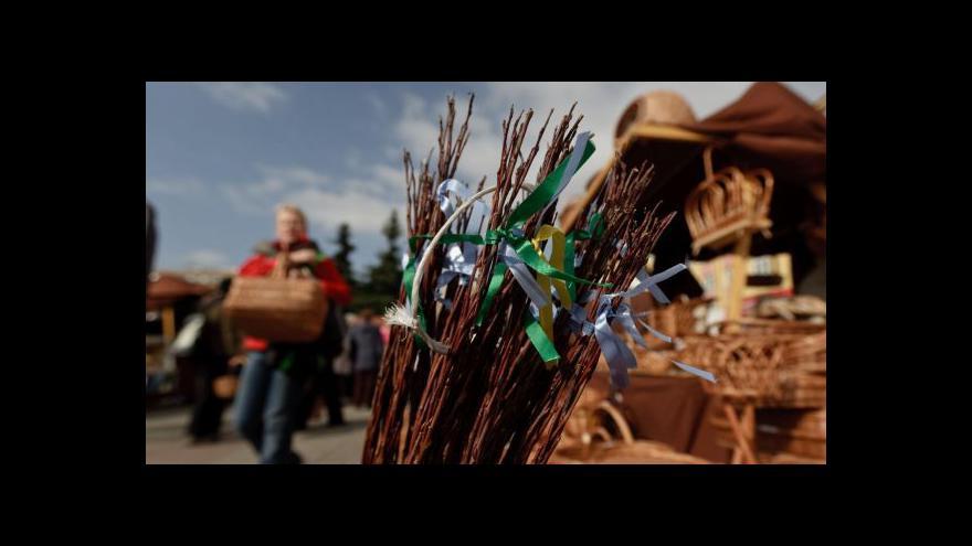 Video O netradičních pomlázkách hovoří František Vacek