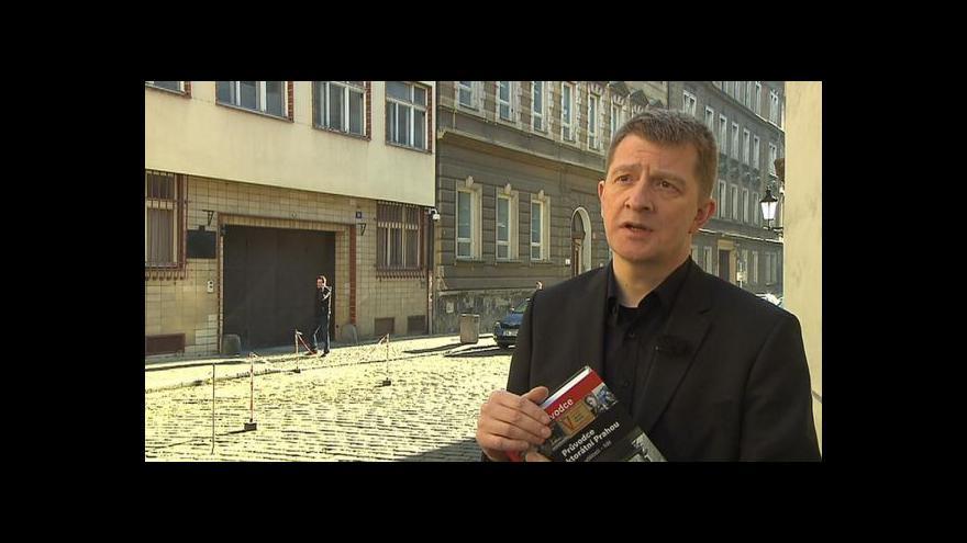 Video Jiří Padevět o Průvodci protektorátní Prahou