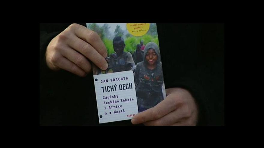 Video Jan Trachta o knize Tichý dech