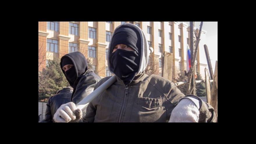 Video Události: V Luhansku a Doněcku se radikálové nevzdávají