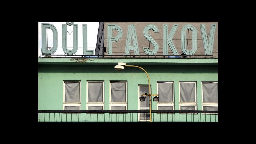 Video Těžba v dole Paskov tématem Událostí, komentářů
