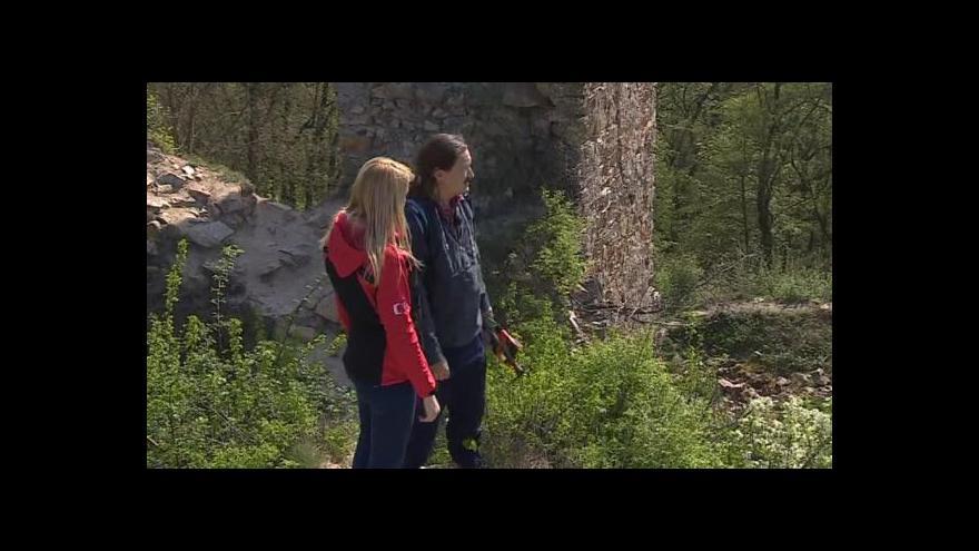 Video Hovoří majitel hradu Templštejn David Hamza