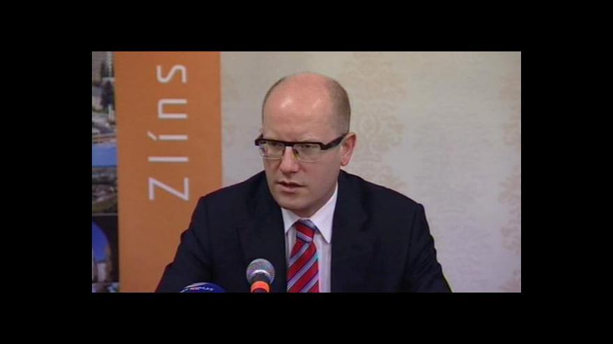 Video Události: Sobotka podpořil výstavbu R49