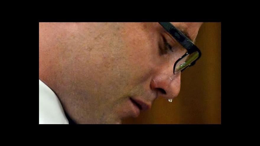 Video Obhajovací řeč Oscara Pistoriuse byla plná emocí