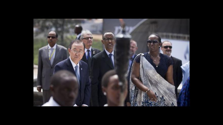 Video 20 let od masakru ve Rwandě zpytuje svědomí i OSN