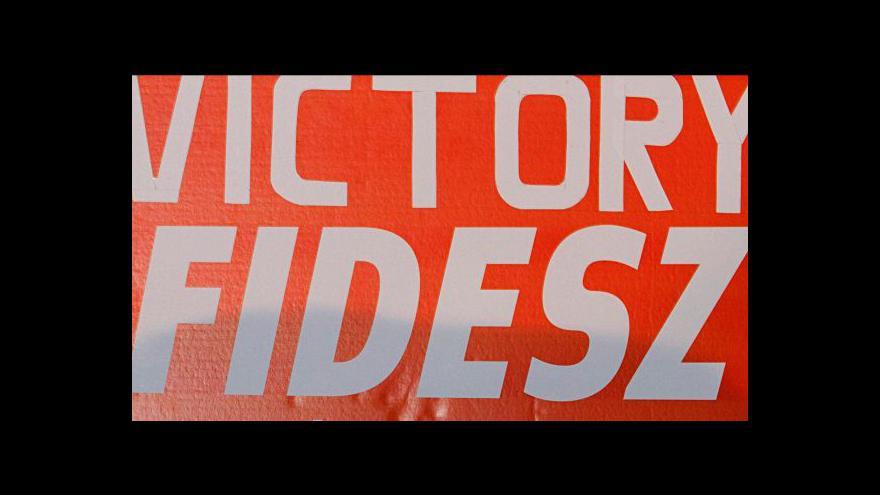 Video Vládnoucí Fidesz jasně zvítězil v parlamentních volbách